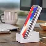 Case-Mate Wireless Power Pad with Stand, White