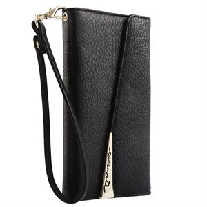 Case-Mate Wristlet Folio Case for Samsung Galaxy S8, Black