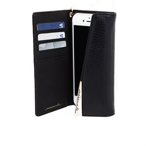 Case-Mate Wristlet Folio Case for iPhone SE / 8 / 7 / 6 / 6s - Black