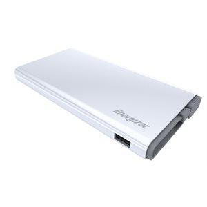 Energizer Powerbank 10000mAh QC MicroUSB to USB White