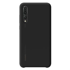 Huawei OEM silicone finish cover for P20 Pro, Black