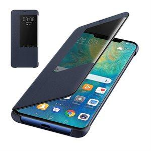 Étui Huawei OEM Smart View Flip pour Mate20 Pro, bleu
