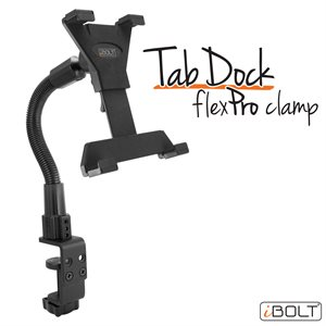 "iBOLT TabDock FlexPro Clamp for 7-10"" Tablets"