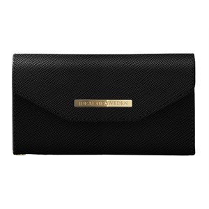 iDeal Mayfair Clutch Case for iPhone X, Black