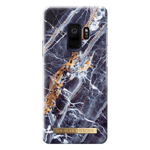 iDeal of Sweden Fashion Case for Samsung Galaxy S9 Midnight Blue Marble