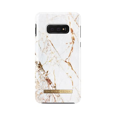 iDeal of Sweden Fashion Case Samsung Galaxy S10e, Carrara Gold Marble