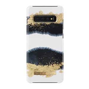 iDeal of Sweden Fashion Case for Samsung Galaxy S10+, Gleaming Licorice