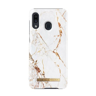 iDeal of Sweden Fashion Case for Samsung Galaxy A20, Carrara Gold