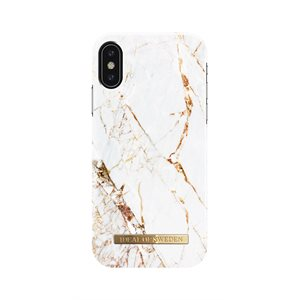 iDeal of Sweden Fashion Case for iPhone Xs, Carrara Gold