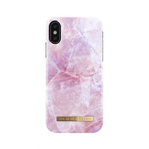 iDeal Fashion Case for iPhone Xs / X, Pillion Pink Marble