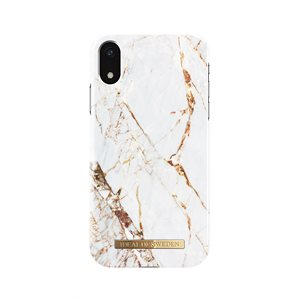 iDeal of Sweden Fashion Case for iPhone XR, Carrara Gold