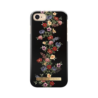 iDeal of Sweden Fashion Case for iPhone 8 / 7 / 6s, Dark Floral