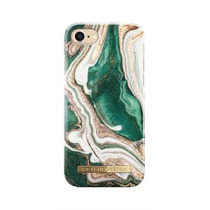iDeal Fashion Case for iPhone 8 / 7 / 6s, Golden Jade Marble