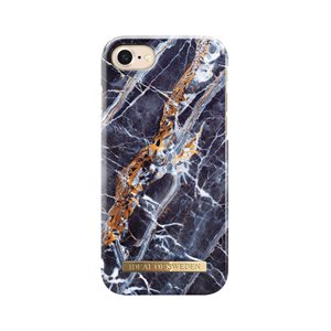 Ideal Fashion Case for iPhone 8 / 7 / 6s, Mid Blue Marble