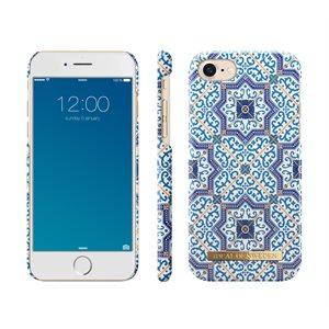 iDeal Fashion Case for iPhone 7 / 8, Marrakech Blue Pattern