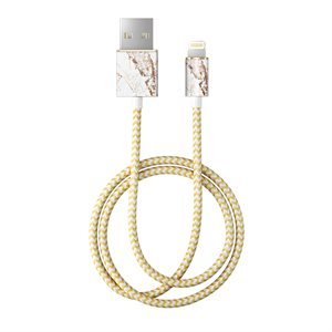 iDeal of Sweden Fashion 1M Lightning Cable, Carrara Gold