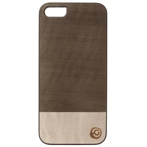 Affinity Wood Cover for iPhone 5 / 5s, Einstein with Black Sides