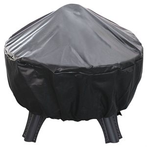 Landmann Garden Lights Brunswick Fire Pit Cover - Black