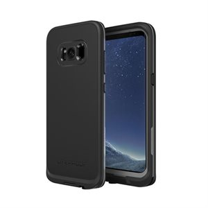LifeProof FRÉ Case for Samsung Galaxy S8, Black / Grey