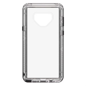 Lifeproof Next Case for Samsung Galaxy Note 9, Black Crystal