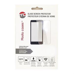 Protecteur d'écrans en verre Moda pour LG G5, Transparent