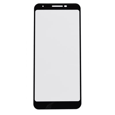Moda Glass Screen Protector for Google Pixel 3a, Black / Clear