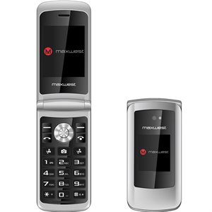 Maxwest Vice 3G Phone Silver