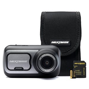 NEXTBASE Dash Cam 422 Bundle with Go Pack