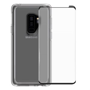 OtterBox Symmetry Case & Screen Protector Bundle for Samsung Galaxy S9, Clear