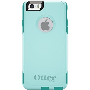 OtterBox Commuter Case for iPhone 6 / 6s, Aqua Blue / Light Teal
