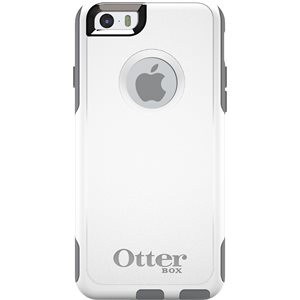 OtterBox Commuter Case for iPhone 6 / 6s, White / Grey