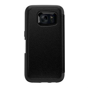 OtterBox Strada Case for Samsung Galaxy S7, Onyx Black