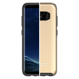OtterBox Symmetry Case for Samsung Galaxy S8, Platinum Gold