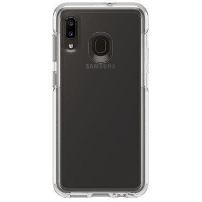OtterBox Symmetry Case for Samsung A20, Clear