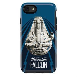OtterBox Symmetry Case for iPhone SE / 8 / 7, Millennium Falcon