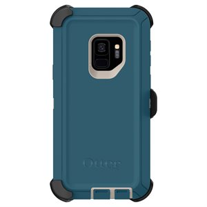 OtterBox Defender Case for Samsung Galaxy S9, Big Sur Blue