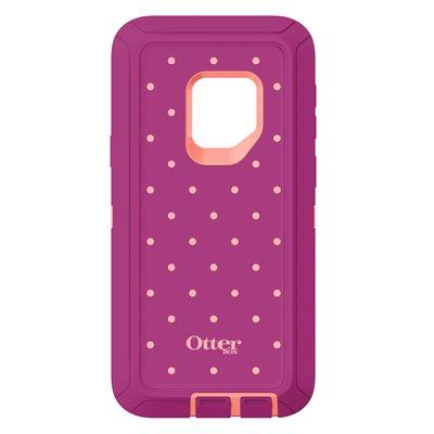 OtterBox Defender Samsung Galaxy S9, Coral Dot