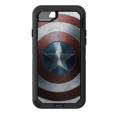 OtterBox Defender Case for iPhone SE / 8 / 7, Captain America