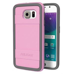 Pelican Progear Protector Case for Samsung Galaxy S6, Pink / Grey