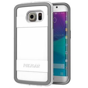 Pelican Protector Case for Samsung Galaxy S6 Edge, White / Grey