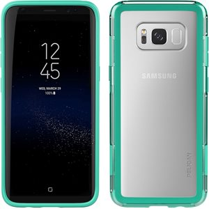 Pelican Adventurer Case for Samsung Galaxy S8, Clear / Teal