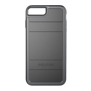 Pelican Protector Case for iPhone 6 Plus / 6s Plus / 7 Plus / 8 Plus, Black / Grey