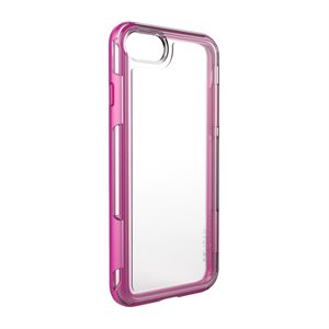 Pelican Adventurer Case for iPhone 7 / 8, Clear / Pink