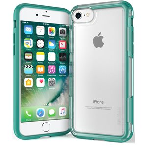Pelican Adventurer Case for iPhone 7 / 8, Clear / Teal