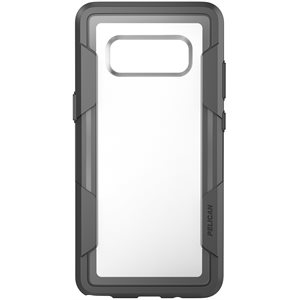 Pelican Voyager Case for Samsung Galaxy Note 8, Clear / Grey