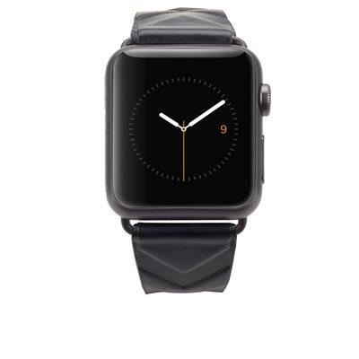 Rebecca Minkoff 38mm Apple Watchband, Embossed Chevron
