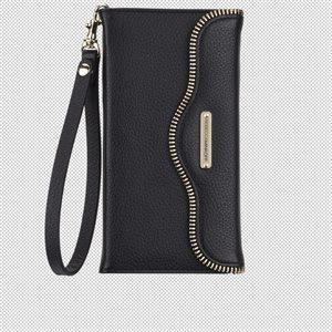 Rebecca Minkoff Leather Folio for iPhone 6 Plus / 6s Plus, Black