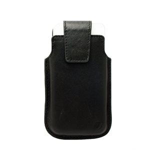 Vetta Leather Drop in Case for Medium Phones (iPhone 5 / 5s / 5c), Black
