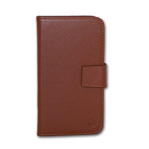 Vetta Folio Case for Samsung Galaxy S5 / Neo, Brown