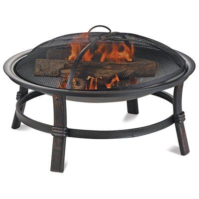 Blue Rhino Brushed Copper Wood Burning Firebowl